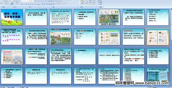 拼音 识字 写字教学策略 PPT课件