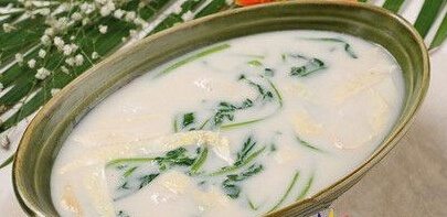 爱眼食谱:菠菜护眼汤