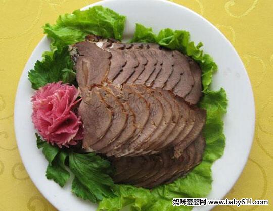 清炒酱牛肉