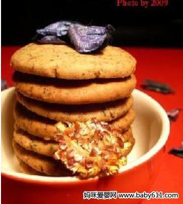 摩卡娱乐在线食谱火烧、酥饼类:伯爵红茶奶酥饼干