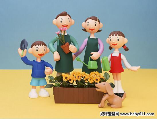 感恩节教案 亲亲一家人图片