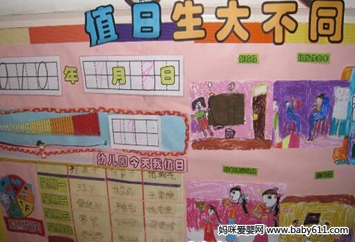 幼儿园主题墙布置图片:英语区