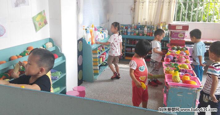 """幼儿园角色游戏主题""""逛超市"""""""
