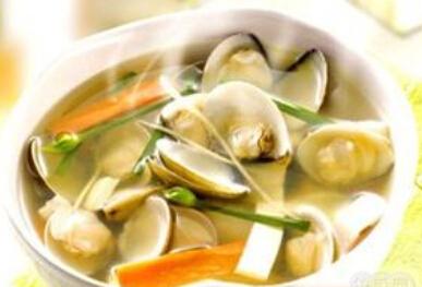 营养食谱:蛤蜊海鲜汤