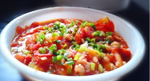 肉末炒西红柿