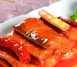 营养食谱:糖醋带鱼