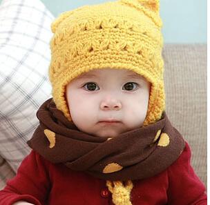 冬季宝宝一出门就戴口罩会