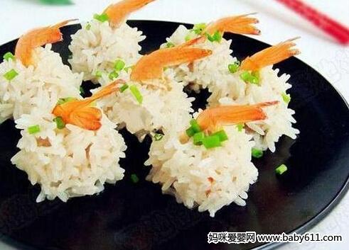 营养食谱:鲜虾珍珠丸子