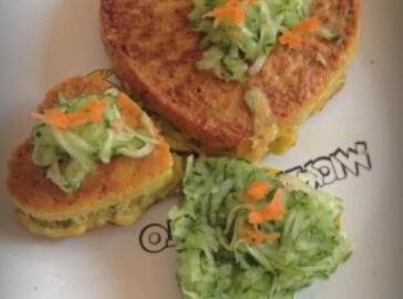 摩卡娱乐在线食谱饼类:鲜蔬蛋饼