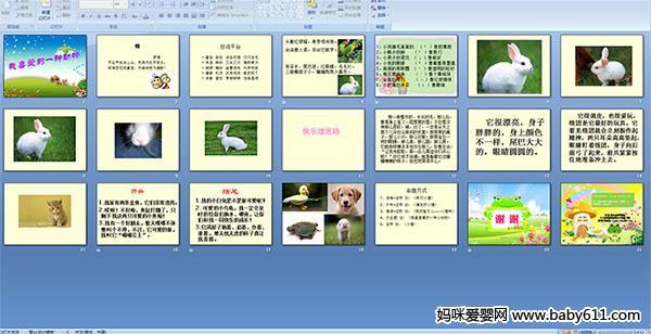 小学语文作文练习 我喜爱的一种动物ppt课件