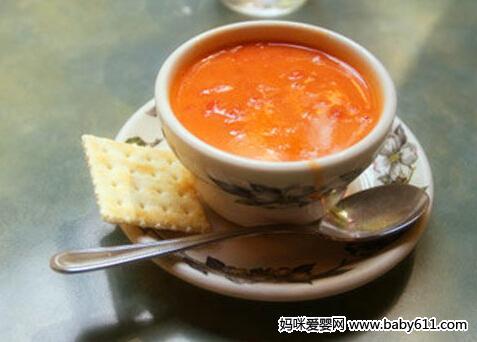 0―1岁宝宝食谱:萝卜番茄汤