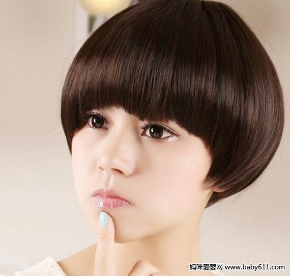 2015欧美风女生最新短发发型