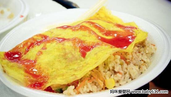 营养食谱:西红柿鸡蛋炒饭