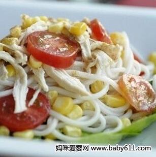 摩卡娱乐在线食谱面条类:泰式面条沙拉