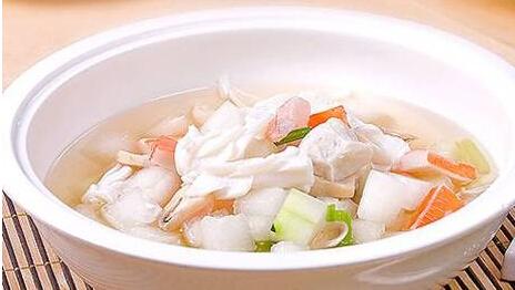 健脑益智类:冬瓜大虾汤