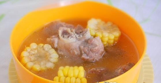 儿童菜谱汤类:淮山玉米花生豆骨头汤