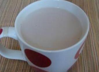 解暑降火类:夏季清火奶茶