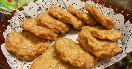 sxda童食谱饼类:烤线鱼饼