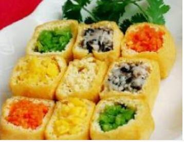 儿童菜谱豆腐类:豆腐蔬菜盅
