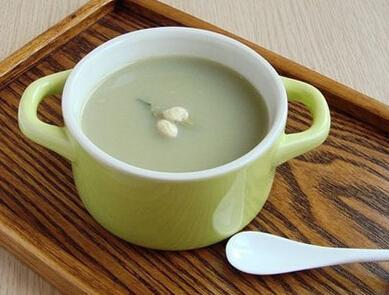 滋补保健类:绿豆豆浆