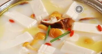 婴儿补钙食谱:草菇豆腐
