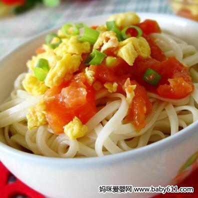 挂面儿童鸡蛋类:食谱番茄面一斤面条煮熟有多少图片