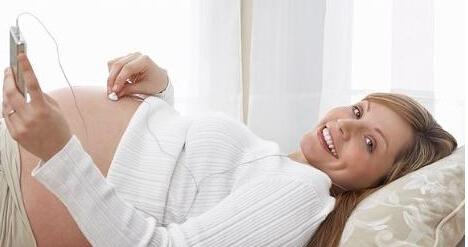 孕晚期的音乐胎教