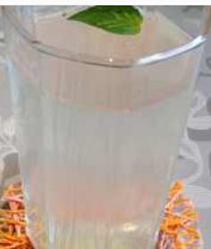 消暑冷饮:姜汁凉饮