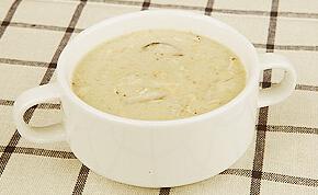 儿童菜谱汤类:奶油鸡蓉汤