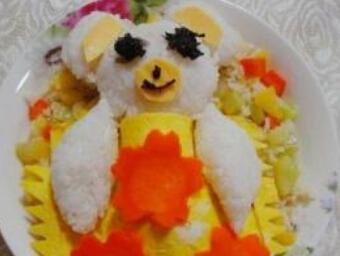 儿童食谱营养花样饭:菠萝炒饭