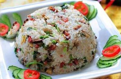 孕妇安胎食谱:香菇糯米饭