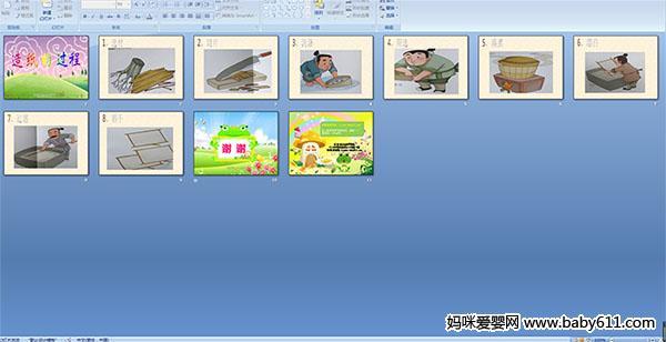 幼儿园中班科学——造纸的过程ppt课件