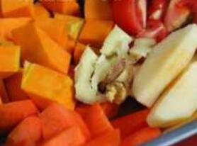 儿童菜谱汤类:四宝蔬果汤