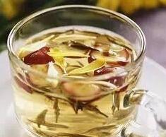 解暑降火类:荷叶藕节茶