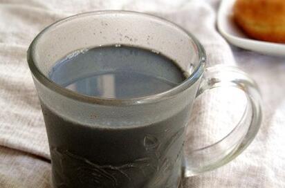 豆浆食谱:黑芝麻豆浆冻