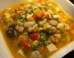 儿童食谱营养花样饭:十锦海鲜烩饭
