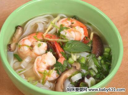 一岁半宝宝虾仁:食谱香菇面德式菜调味品图片