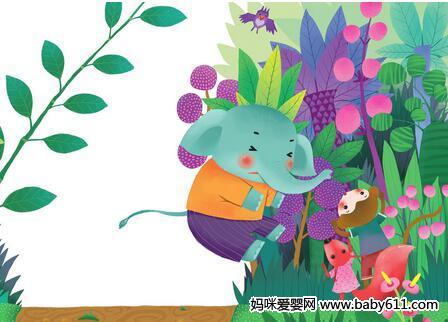 小象的花头巾的故事
