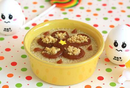 0―1岁宝宝食谱:栗子枣泥小米粥