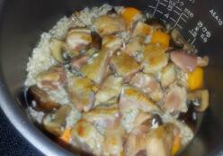 鲜菇南瓜炊饭