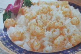 儿童食谱营养花样饭:大虾炒饭