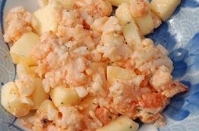 0―1岁宝宝食谱:苹果薯团