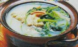 猪骨菠菜汤