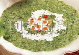 儿童菜谱汤类:蔬菜绿春汤