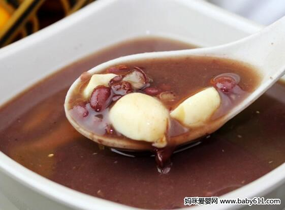 豆浆食谱:莲子百合红豆沙