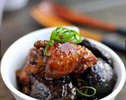 香菇鸡翅鸡类:儿童蚝油菜谱海带结怎么v香菇图片