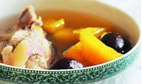 栗子红薯排骨汤