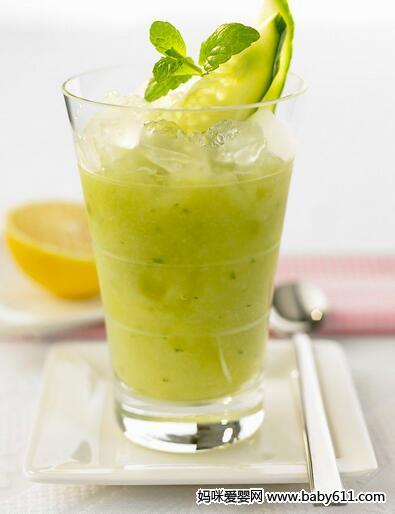 黄瓜柠檬冰沙