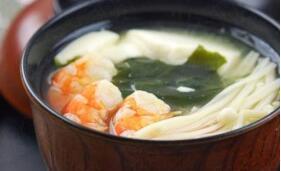 儿童菜谱汤类:日式味增汤