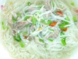 面条儿童灵芝类:肉丝面-排骨食谱海带类做法食谱面条汤的儿童图片